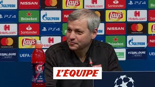 Genesio «Beaucoup de choses dépendent de Messi» - Foot - C1 - OL