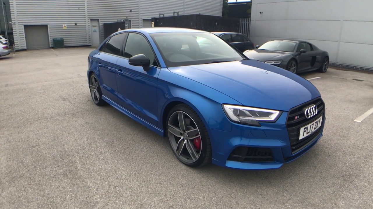 Audi S3 Saloon Black Edition 2 0 Tfsi Quattro For Sale At
