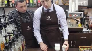 Как приготовить кофе 'Карамель макиято'