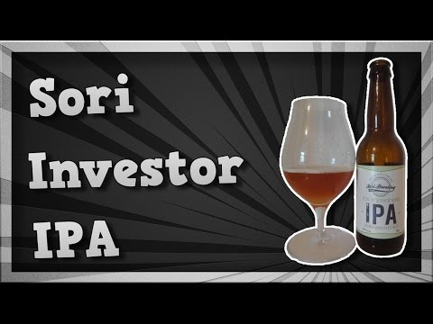 TMOH - Beer Review 1988#: Sori Investor IPA