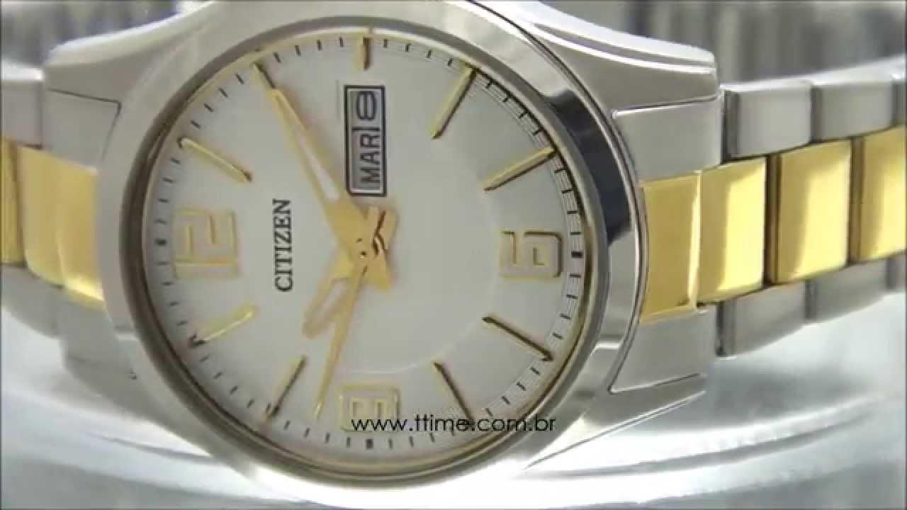 56914dcc356 Relógio Citizen Feminino TZ28413B - EQ0594-58A - YouTube