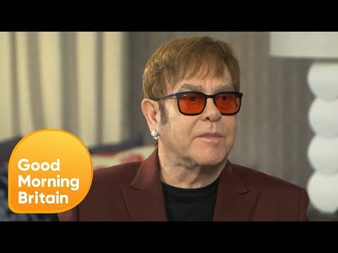 Elton John Is Looking Forward to Moving on From Music After Farewell Tour | Good Morning Britain