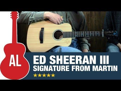 Martin Ed Sheeran III - Super Popular Signature Model!!