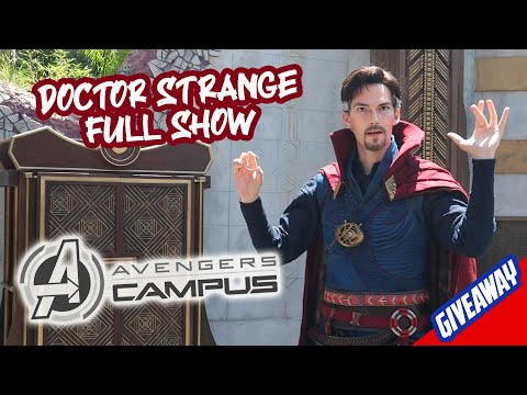 Avengers Campus: Doctor Strange FULL SHOW on Opening Day - Mysteries of the Mystic Arts