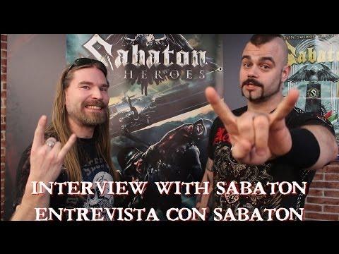 Sabaton Interview (Heroes, new album 2014) || [SUB ESP] Entrevista Sabaton nuevo disco