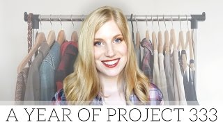 A Year of Project 333 | lessons from my capsule wardrobe