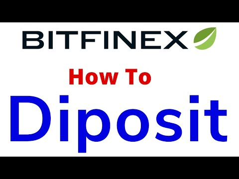 How To Diposit Your Bitfinex Exchange Account Live Demo By Gupta Tube
