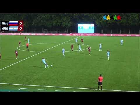 Universiade Taipei 2017 - Russia vs. Argentina - Fúbol masculino
