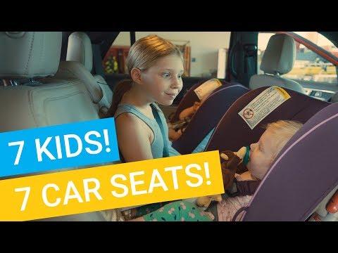 7 Kids...7 Car Seats!!!