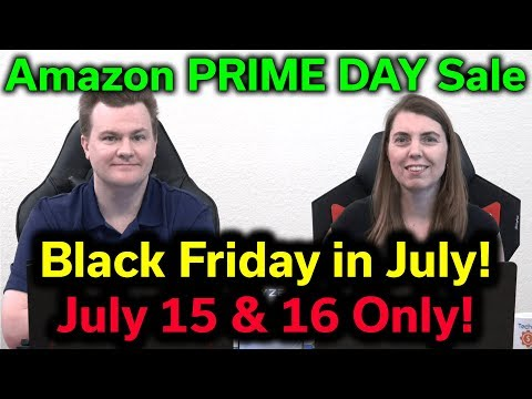 Amazon Prime Day - July 15 & 16 Only! - Special Edition Of The RogueTech Show