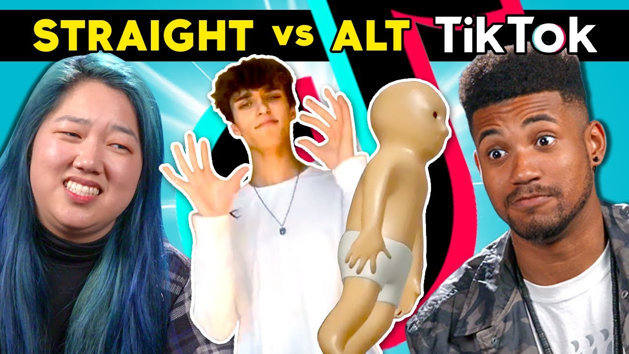 College Kids React To Straight Vs Alt Tiktok Which Side Is Best Youtube