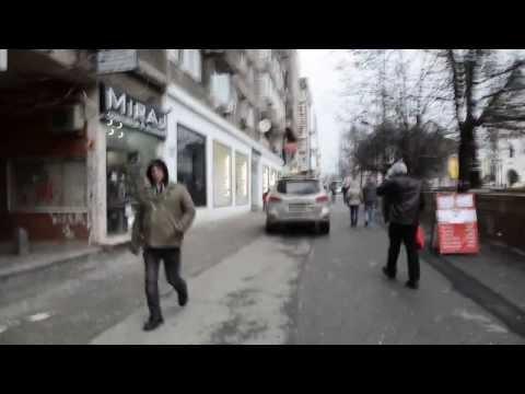 Pedestrian in Bucharest