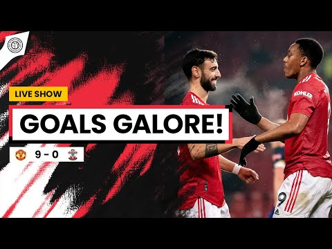 GOALS GALORE!!! | Manchester United 9-0 Southampton | Review