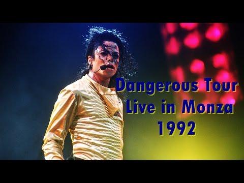 Michael Jackson Dangerous World Tour Monza 1992 (Full Concert)