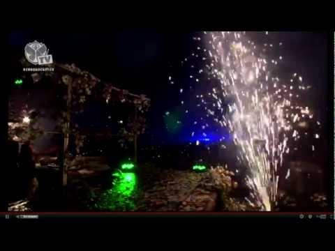Tomorrowland 2012 Steve Aoki Big Final, day 3