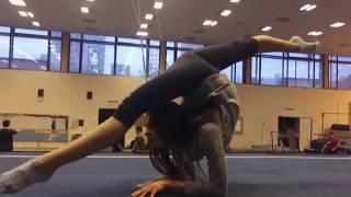 Клип « Шаги к Успеху » !))) Комплекс быстрой разминки для гимнасток ! Gymnastics training !