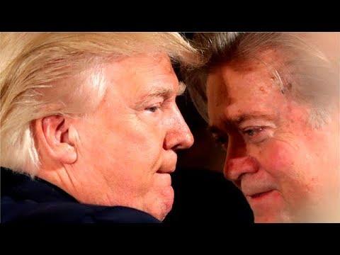 Trump slams Bannon over book