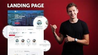 Photoshop: Создаем Дизайн Landing Page В 2017