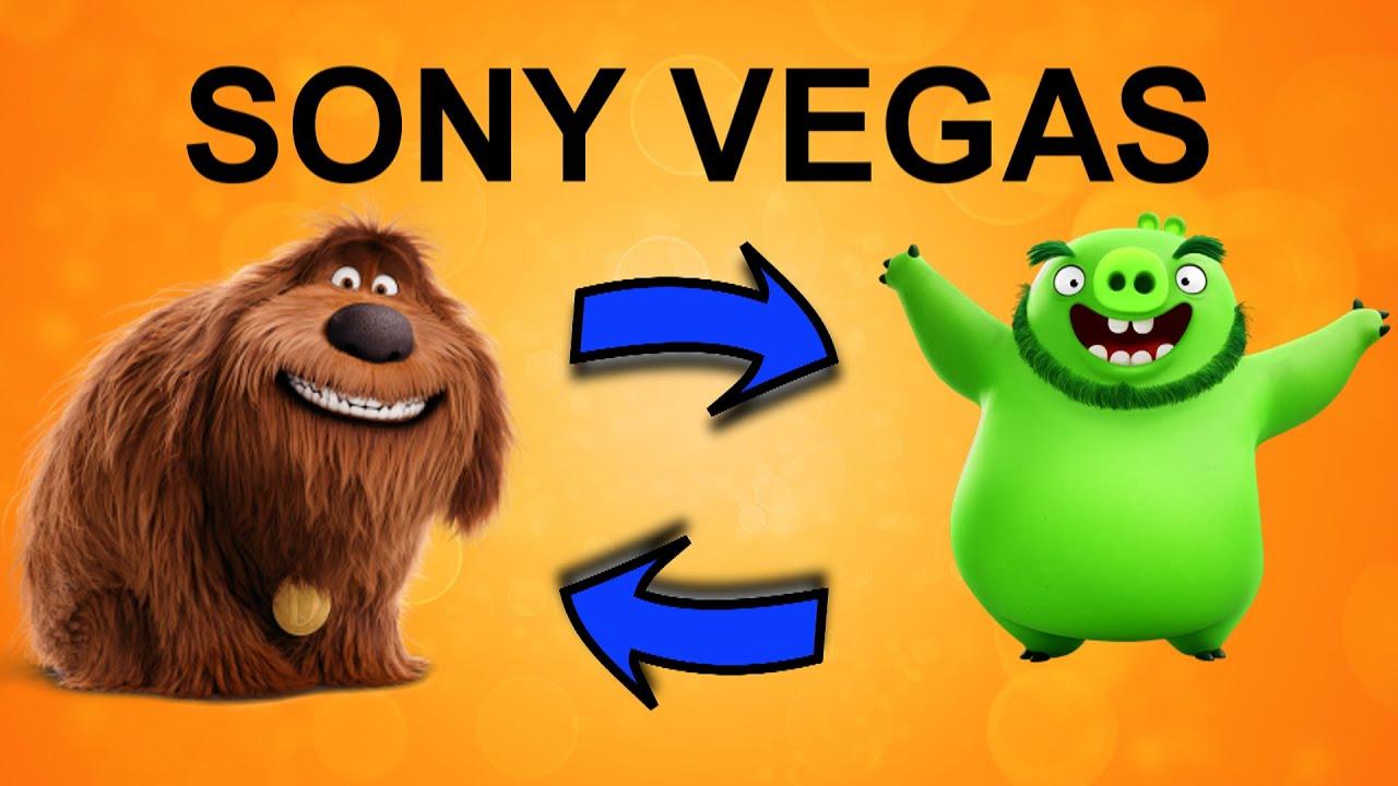 Поменять фрагменты местами в Sony Vegas. Инструмент обычное редактирование. Уроки видеомонтажа
