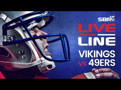 Vikings Vs 49ers NFC Divisional Round In-Game Bets | Live Line