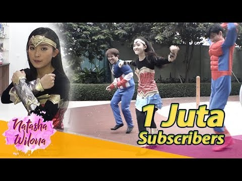 1JUTA Subscribers Jadi WONDER WOMAN ! Fortnite Dance Challenge TERGAJE!!