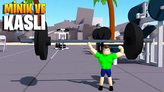 💪 Tiny but Muscular President! 💪 | Lifting Simulator | Roblox English