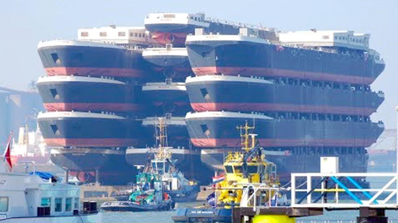 जब लाखो टन वजनी चीजों को इधर उधर किया गया | 5 Most Incredible Transportation Operations of All Time
