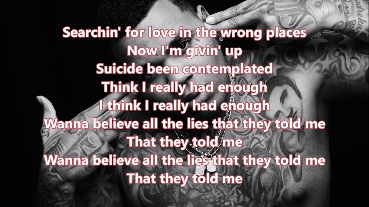 Told Me Kevin Gates Lyrics Youtube