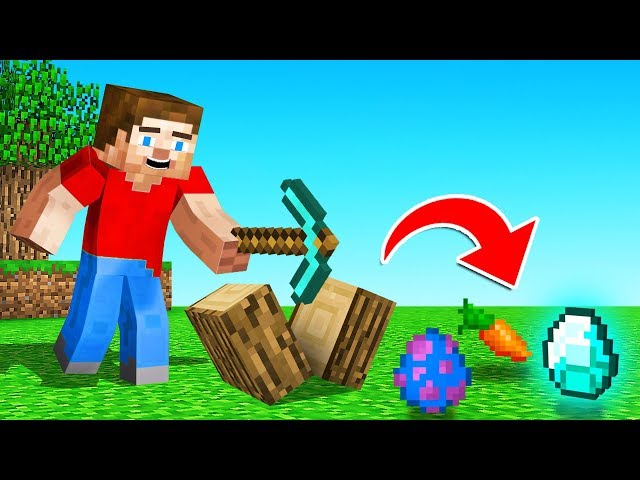 MINECRAFT But EVERY Drop Is RANDOM! (help)