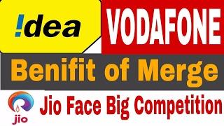 Benefit of Idea and vodafone merge - Big merge-Jio In problem