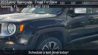 2017 Jeep Renegade Limited 4x4 4dr SUV for sale in Sebring,