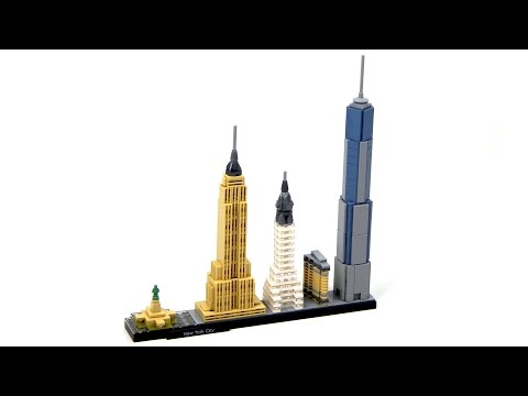 Lego Architecture 21028 New York City Lego Speed Build