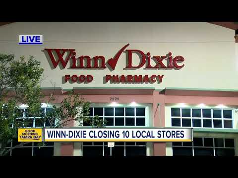 Winn-Dixie parent company to close 94 stores, including 10 in Tampa Bay