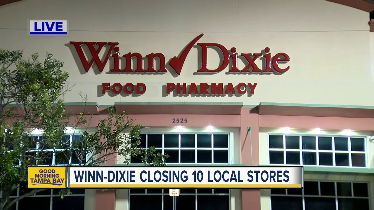 It's official: Winn-Dixie's parent company files for bankruptcy