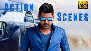 Pandi Tamil Movie   Full Fight Scenes   Raghava Lawrence, Sneha, Raj Kapoor, Nassar