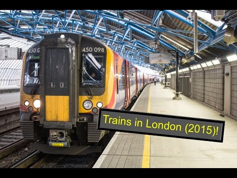 Treinen in Londen / Trains in London (2015)