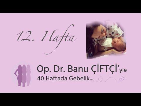 Op. Dr. Banu Çiftçi'yle 40 Haftada Gebelik - 12.Hafta