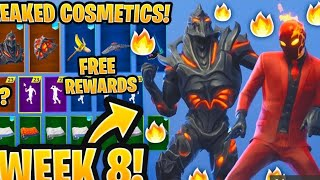 **NEW LEAKED SKINS IN FORTNITE... DISCOVERY SKIN+FIRE WILDCARD SKIN #FaZe5