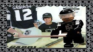 LA KINGS Marian Gaborik Minifigure - 2014 Stanley Cup Championship Special Edition Building Toy