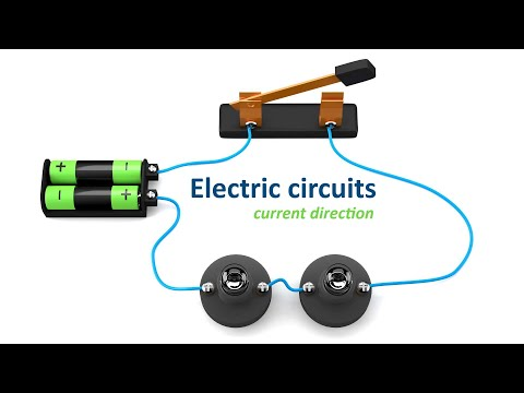 basic electricity: current direction