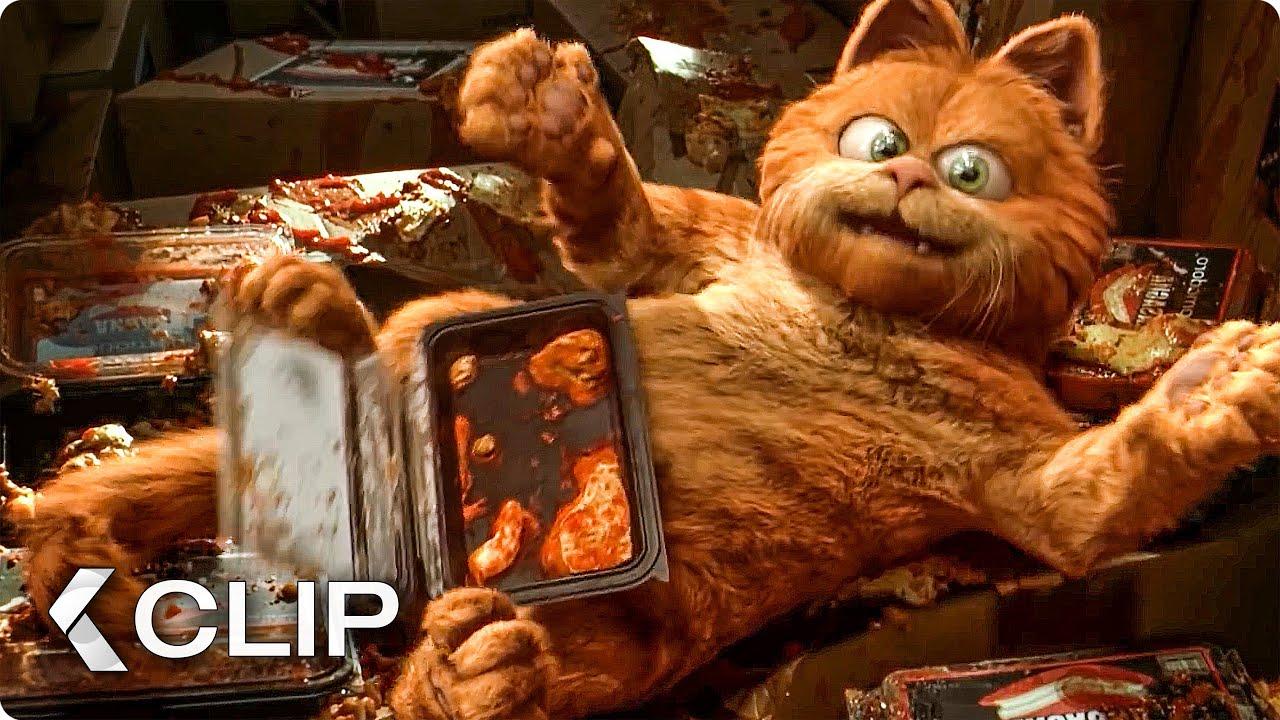 Saved By Lasagna Movie Clip Garfield 2004 Youtube