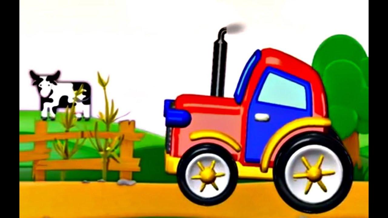 Mon petit tracteur jeu d 39 assemblage dessin anim en fran ais youtube - Image tracteur ...
