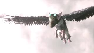 The Last Guardian - How Trico Met The Boy (Before Beginning Scene)