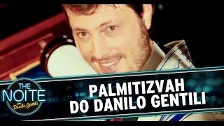 The Noite (26/09/14) - Palmitizvah do Danilo Gentili