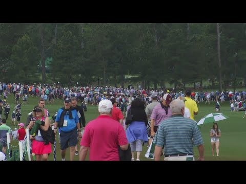 Counting steps at the Masters tournament