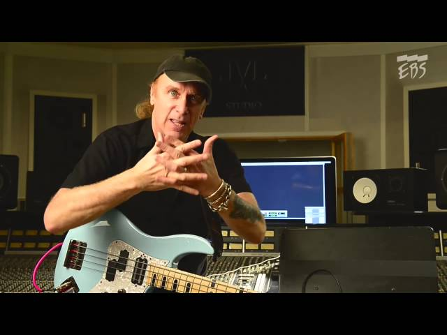Billy Sheehans complete guide to the EBS Billy Sheehan Signature Drive