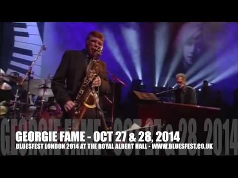 Georgie Fame LIVE - catch him at BluesFest 2014