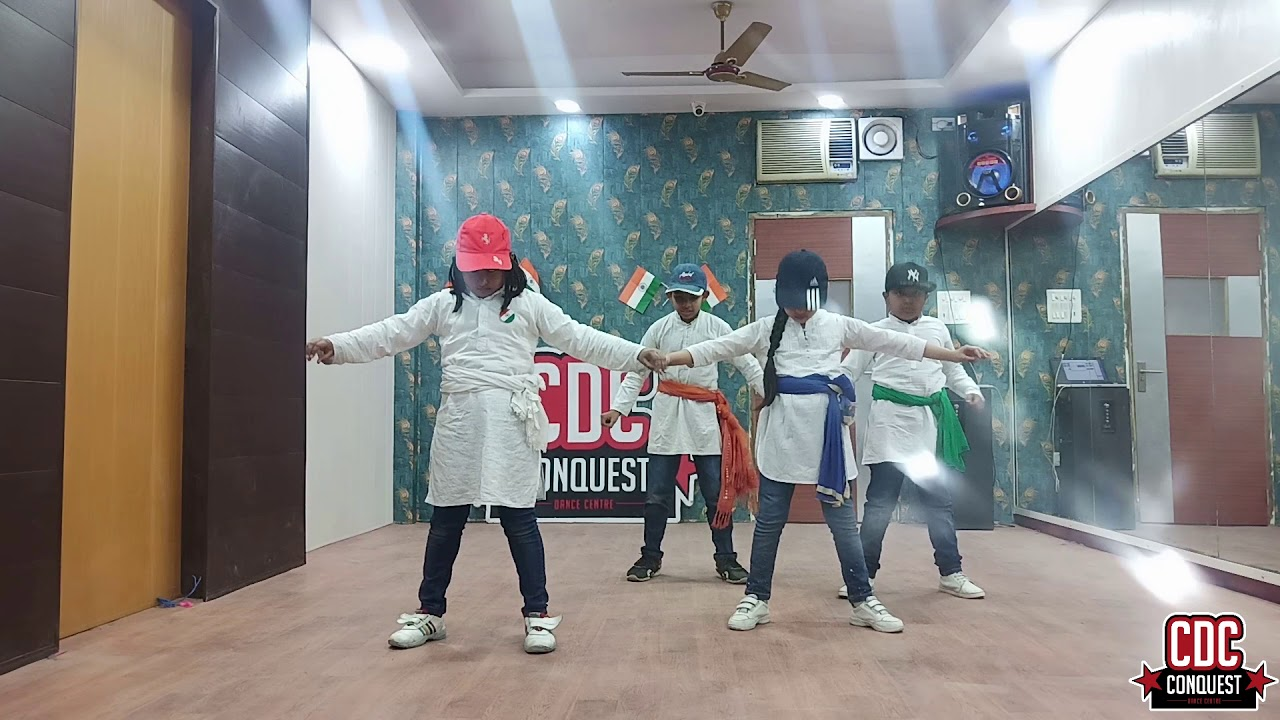 Patriotic Dance Performance by Kids | Conquest Dance Centre