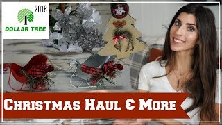 DOLLAR TREE HAUL | NEW CHRISTMAS DECOR + MORE | Momma From Scratch