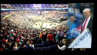 Trump vs Hillary rallies - What you DON'T see on TV